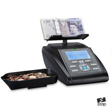 Money Scale Coin Counter Checker Banknote Note Cash Currency Battery Machine UK