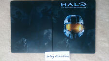 Halo The Master Chieft Collection steelbook CASE ONLY for Xbox One game G2 metal