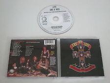 GUNS N´ ROSES/APPETITE FOR DESTRUCTION(GEFFEN-UZI SUICIDE GE(F)D 24148) CD ALBUM