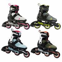 Rollerblade Microblade Free 3WD Kinder-Inline Skates Größenverstellbar 3 Rollen