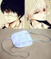 Japanese Anime Tokyo Ghoul Kaneki Ken Cosplay White Eye Patch Single-Eyed UK