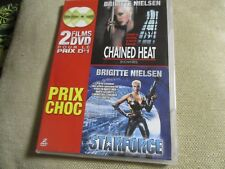 "COFFRET 2 DVD ""CHAINED HEAT / STARFORCE"" Brigitte NIELSEN"