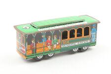 Vintage SNCO (Japan) Tinplate Friction Drive San Francisco Cable Car