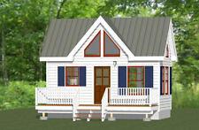 20x10 Tiny House -- 266 sq ft -- PDF Floor Plan -- Model 1A