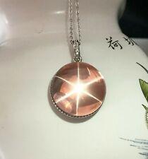 Natural Quartz Crsytal Star Light Pendant Silver Reiki Healing #15