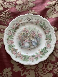 """Royal Doulton Brambly Hedge """"Summer"""" Plate"""