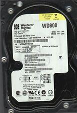 WESTERN DIGITAL 80 GB SATA  HARD DRIVE WD800 TESTED GOOD
