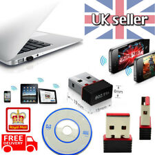 Mini USB Wifi Dongle Wireless Adapter 802.11N LAN Network for Win Mac PC 150Mbps