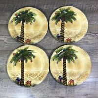 Tabletops Unlimited Lifestyles BELLAGIO CHRISTMAS Salad Plates Set of 4
