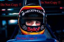 Stefan Bellof Tyrell F1 Portrait 1985 Photograph 3