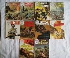 10 x battle picture library comics