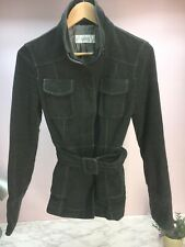 Ladies Women's Next Jacket Grey Smart Casual Belt Size Small