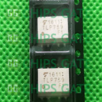10PCS  OPTOCOUPLER TOSHIBA DIP-8 TLP759F1 TLP759