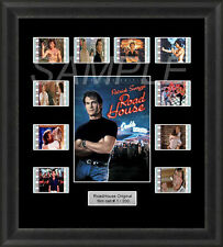 Road House Patrick Swayze Framed 35mm Film Cell Memorabilia Filmcells Movie Cell
