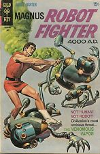 Gold Key Comic Magnus Robot Fighter #26 May 1969 VG/Fine Condition