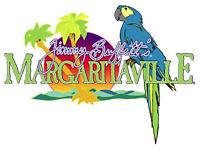 """Margaritaville Jimmy Buffetts Vinyl Sticker Decal 18"""" (full color)"""