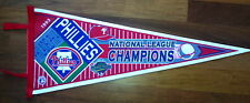 Philadelphia Phillies  Baseball 1993 National League Champs Wool Pennant