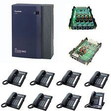 Panasonic KX-TDA 8 phones & 6 Analogue Lines Phone System GST & Del Inc