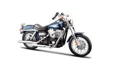 HARLEY-DAVIDSON 2006 FXDBI DYNA STREET BOB BLU 1:18 Modellino Moto