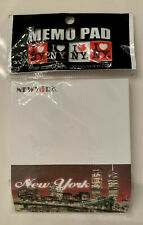 New York City Memo Pad w/Twin Towers in Sealed Package