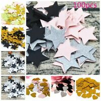 Romantic Glitter Star Wedding Confetti Party Supplies Table Decoration