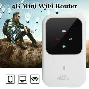 New Unlocked 4G LTE Mobile Broadband WiFi Wireless Router Portable MiFi Hotspot