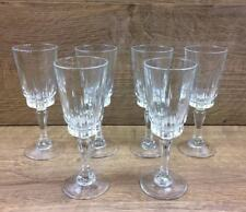 6 x Luminarc French Glass Sherry or Port Glasses 144mm Tall