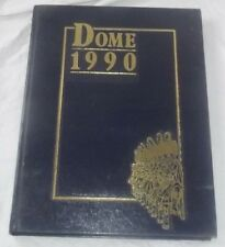 1990 UNIVERSITY NOTRE DAME FIGHTING IRISH DOME # 81 Yearbook Annual  NO WRITING