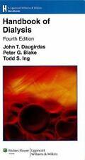 Handbook of Dialysis, , New Book