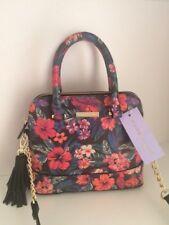 Madden girl MINI tote floral hawaiian flowers multi-colored crossbody purse New
