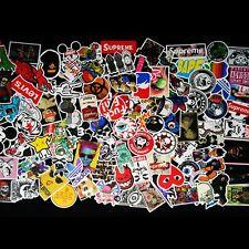 100pcs Skateboard Stickers Pack Car Skate Snowboard Laptop Ipad Guitar Decal