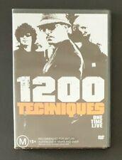 1200 TECHNIQUES - 'One Time Live' 2002 Hip Hop Music DVD