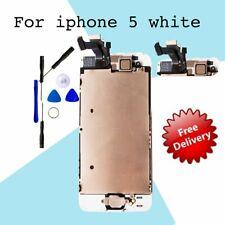 Für Apple Weiß LCD Touch Display Volle Montage Digitizer iPhone 5 Ersatz