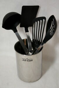 All-Clad Stainless Steel Non-Stick 5-PC Kitchen Tool Set