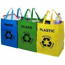Top Home Solutions 12071H Recycle Bags  - Pack of 3