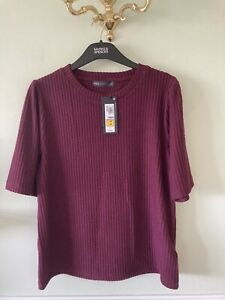 M&S Collection | Jumper | Size 16 Berry