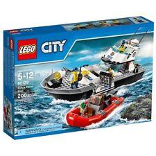 LEGO CITY Police Patrol Boat 60129 Complete NEW Set