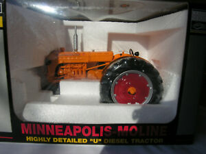 "Spec Cast # SCT 234 1953 Minneapolis-Moline ""U"" Diesel Tractor ""Classic Series"""