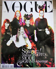 Magazine VOGUE Paris #862 novembre 2005 spécial photos de mode french fashion