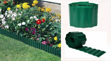 GARDEN LAWN EDGING GRASS FENCE WALL EDGE BORDER DRIVEWAY ROLL PATH PLASTIC GREEN