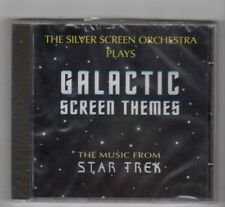 (HY107) Galactic Screen Themes, The Silver Screen Orchestra - 1997 Sealed CD