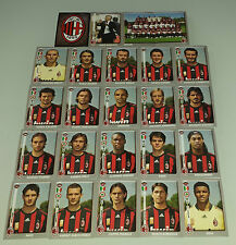 FIGURINE CALCIATORI PANINI 2008-09 SQUADRA MILAN CALCIO FOOTBALL ALBUM