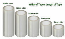 Extra Strong Polytunnel / Greenhouse Repair Tape   Polythene   Clear
