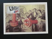 postal history telephone maximum card Germany ref 05-08 Frankfurt