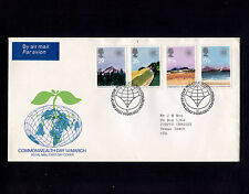 1983 Britain Edinburgh Commonwealth Day FDC