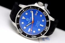 New Deep Blue Master 1000 Automatic Black Blue 44mm Sapphire Crystal Mens Watch