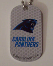Carolina Panthers Key Chain/Dog Tag: Super Bowl 50 AFC Champs! Go Cam Newton!