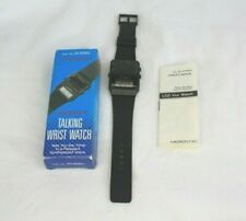 Micronta Vox Synthesized LCD Talking Wrist Watch + Owner's Manual & Original Box