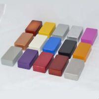 2 x 1590b stil druckguss aluminium - box gehäuse lackfarbe diy - gitarre pedal -