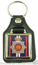 RCT Royal Corps Of Transport Leather Medallion Key Ring / Keyring